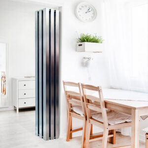 Tall radiator for lounge