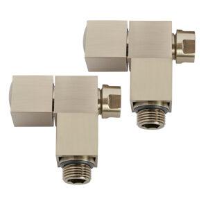 Cubic angle manual radiator valves