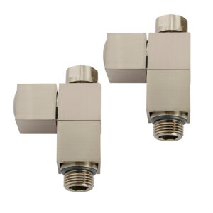 Cubic straight manual radiator valves