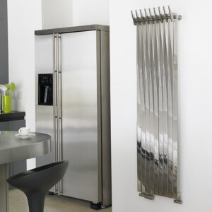 Attractive towel rail for bathrooms and kitchens