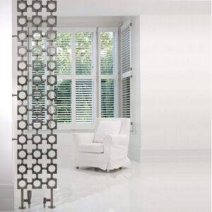 Fun designer radiator for hallways and lounge