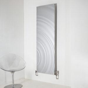 Designer aluminium radiator for lounge and bedrooms