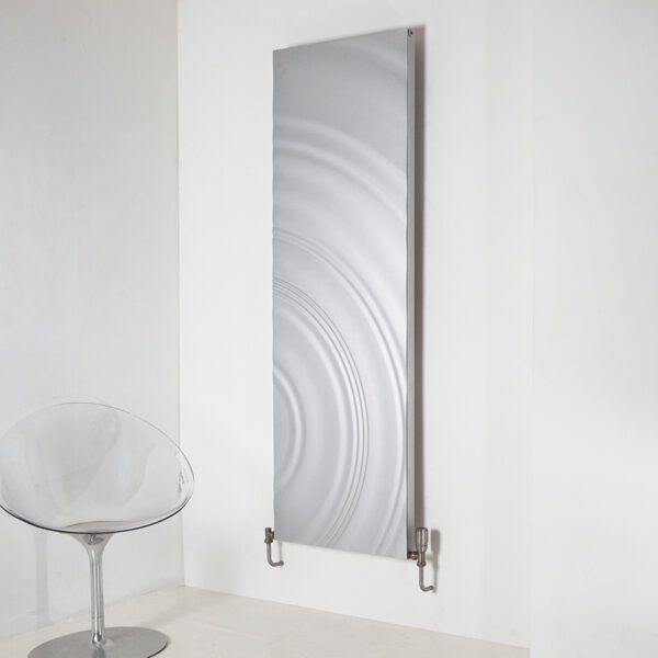 Designer aluminium radiator for lounge and bedrooms