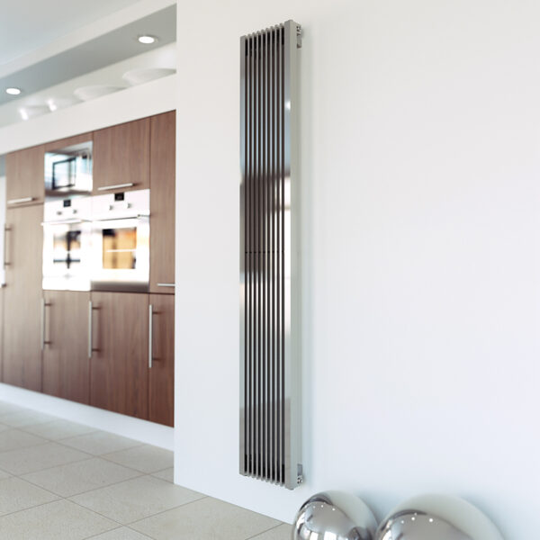 Tall tower radiator for lounge and kitchens