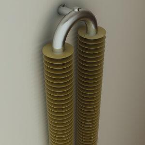 Designer radiator for lounge