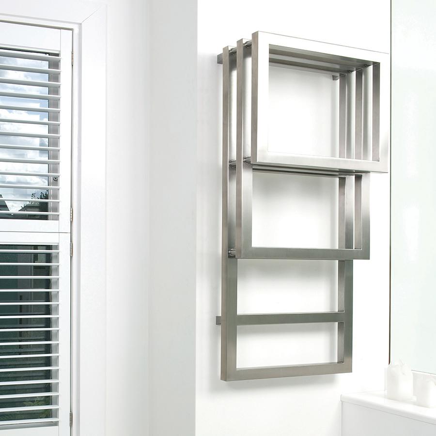 Attractive designer towel rail for bathrooms