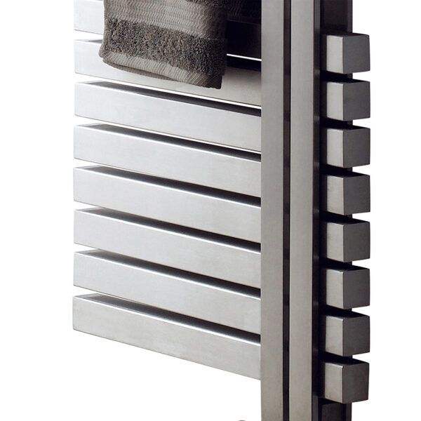 Attractive left and right towel rail for bathrooms