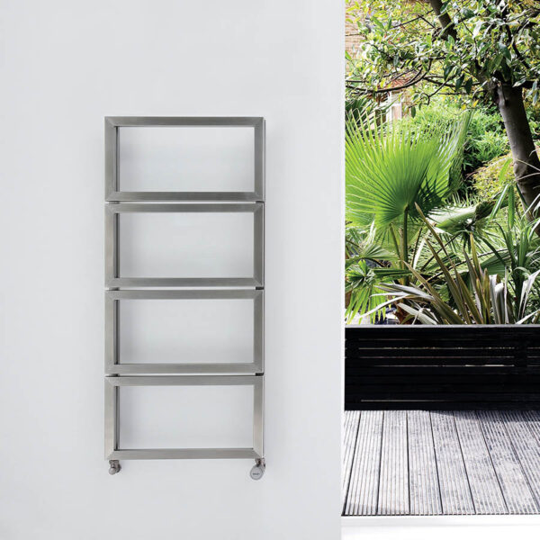 Brushed Matt Bathroom Kitchen Towel Rail