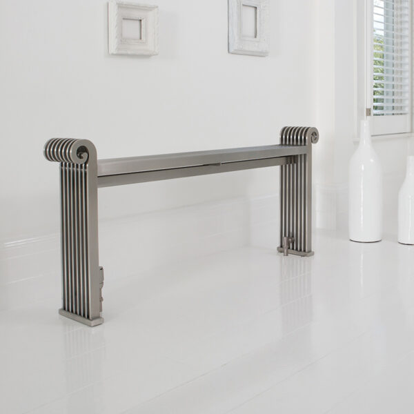 Designer radiator for entrance and bathrooms