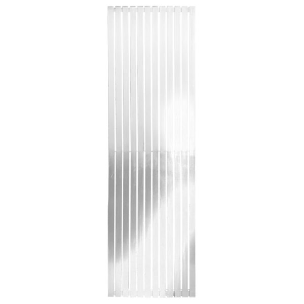 Tall tower radiator with mirror for lounge