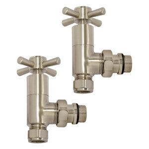 Quartz angle manual radiator valves